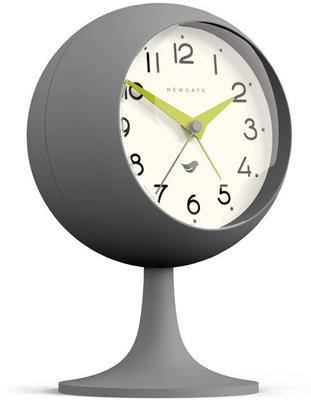 Newgate Dome II Alarm Clock - Clockwork Grey