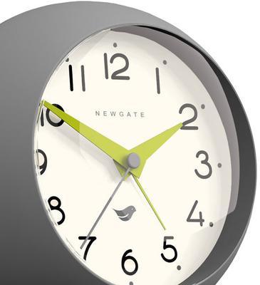 Newgate Dome II Alarm Clock - Clockwork Grey [D] image 3