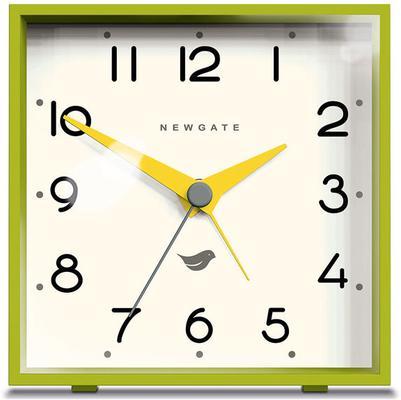Newgate Cubic II Alarm Clock - Lime Green image 2