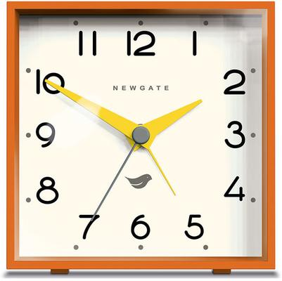 Newgate Cubic II Alarm Clock - Pumpkin Orange [D] image 2