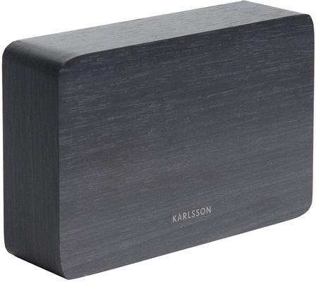 Karlsson Square LED Alarm Clock - Black image 2