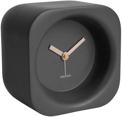 Karlsson Chunky Alarm Clock - Black