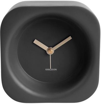 Karlsson Chunky Alarm Clock - Black image 2