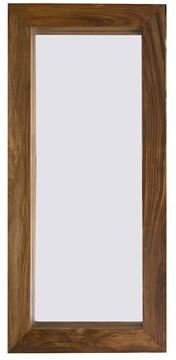 Cube Sheesham Mirror Hardwood Frame
