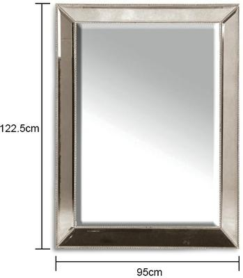 Venetian Mirror With Stud Frame image 2