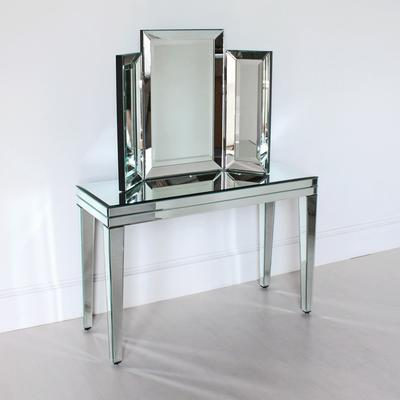 Venetian Three Fold Modern Dressing Table Mirror image 2