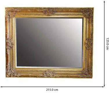 Large Ornate Mirror image 2