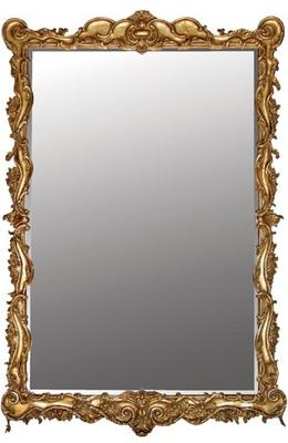 Large Scroll Edge Mirror