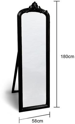 Wooden Dressing Mirror image 4