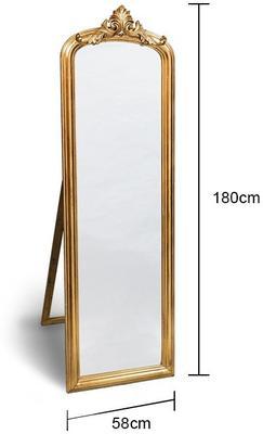 Wooden Dressing Mirror image 6