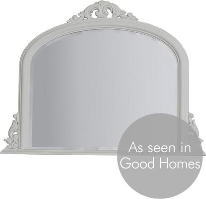 Classic Gold Overmantle Mirror French Style image 5
