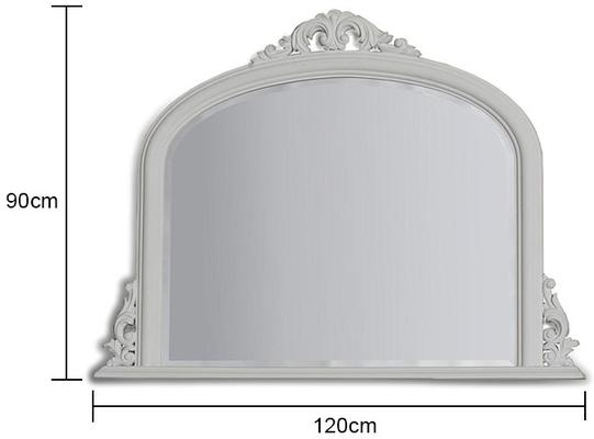 Classic Gold Overmantle Mirror French Style image 6