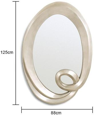 Oval Curl Mirror image 2