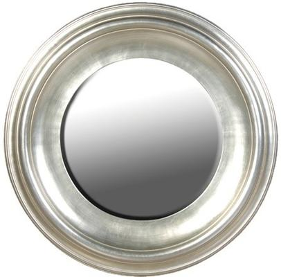 large round silver leaf mirror mirrors. Black Bedroom Furniture Sets. Home Design Ideas