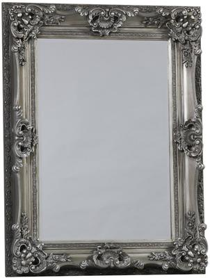 Silver Ornate Mirror image 5