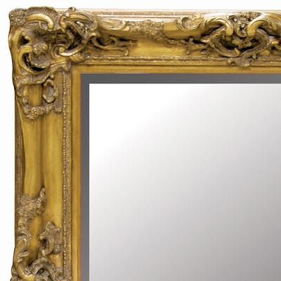 Decorative Gold Wall Mirror Antique Gilt Design image 2