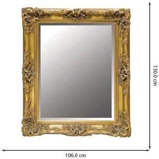 Decorative Gold Wall Mirror Antique Gilt Design image 3