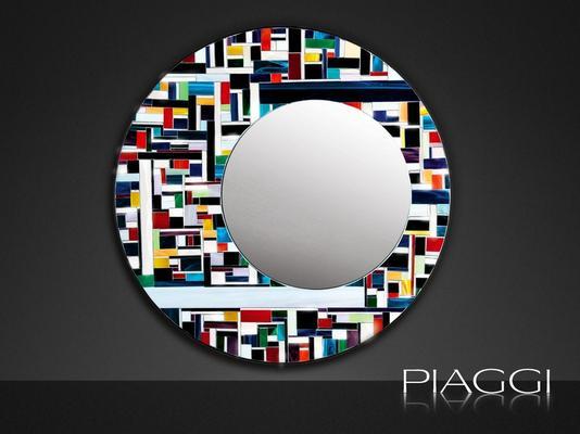 Eclipse PIAGGI glass mosaic mirror image 2