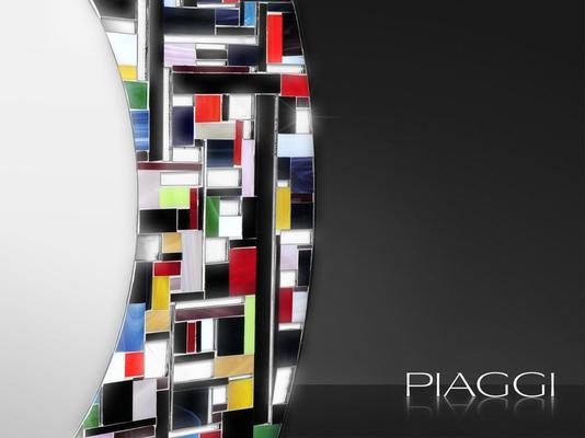 Eclipse PIAGGI glass mosaic mirror image 3