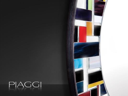 Eclipse PIAGGI glass mosaic mirror image 4