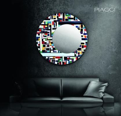 Eclipse PIAGGI glass mosaic mirror image 5