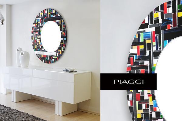 Eclipse PIAGGI glass mosaic mirror