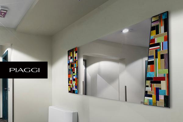Disco PIAGGI glass mosaic mirror image 7