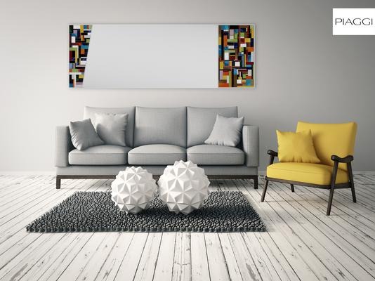 Disco PIAGGI glass mosaic mirror image 11