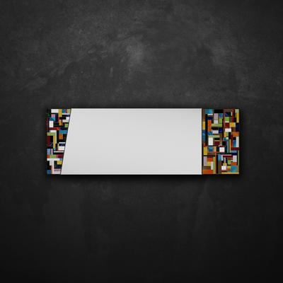 Disco PIAGGI glass mosaic mirror image 13