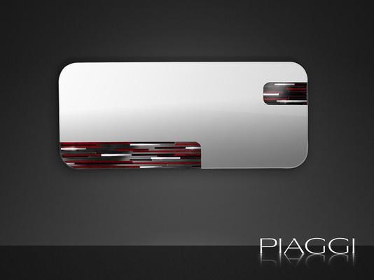 Cosmos PIAGGI glass mosaic mirror image 2
