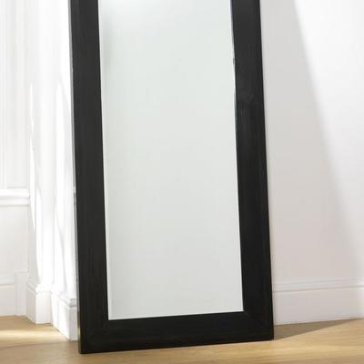 Dressing Mirror, Black Lacquer image 2