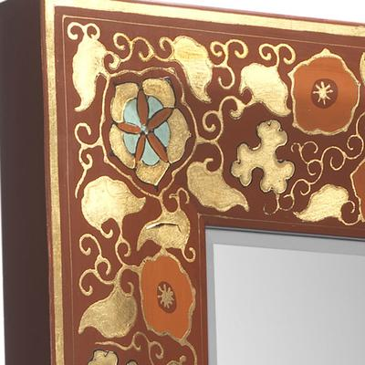 Shanxi Painted Dressing Mirror, Red Lacquer image 4