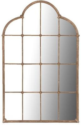 Lattice window mirror