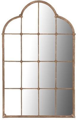 Lattice window mirror