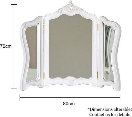Classic French Dressing Table Mirror image 3