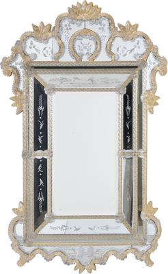 Gold Finish Venetian Mirror