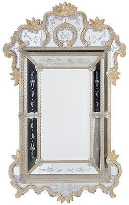 Gold Finish Venetian Mirror image 2