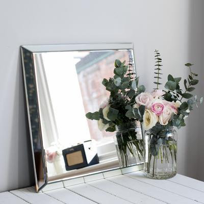 Square Plain Venetian Mirror