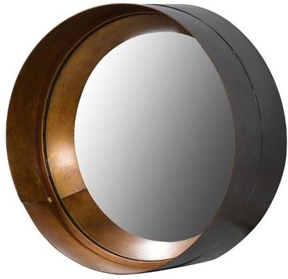 Cylinder Metal and Glass Mirror image 2