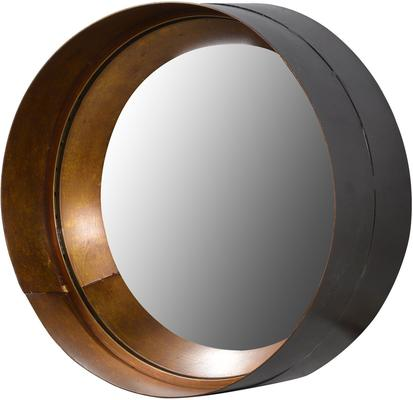 Cylinder Metal and Glass Mirror