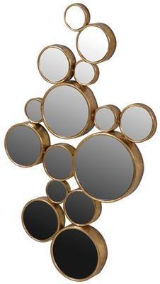 Multi-Circles Wall Mirror image 2