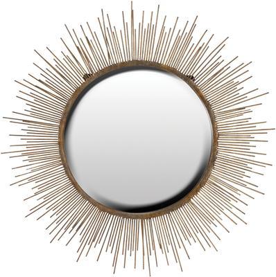 Large Sunburst Wall Mirror Contemporary Design