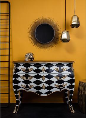 Large Sunburst Wall Mirror Contemporary Design image 3