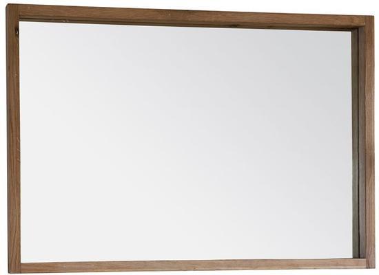 Kielder Simple Oak Rectangular Mirror
