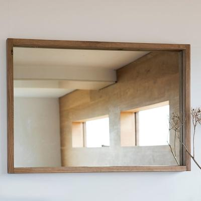 Kielder Simple Oak Rectangular Mirror image 2