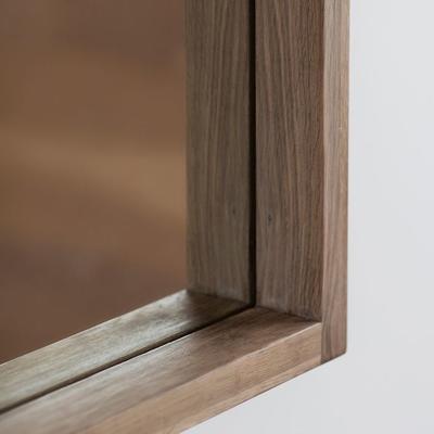 Kielder Simple Oak Rectangular Mirror image 3