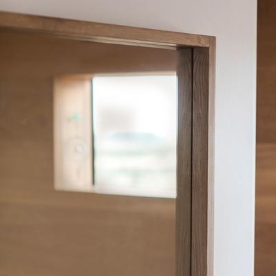 Kielder Simple Oak Rectangular Mirror image 4