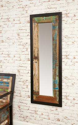 Shoreditch Rustic Wall Mirror - Large image 3