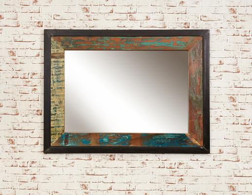 Shoreditch Rustic Wall Mirror - Medium