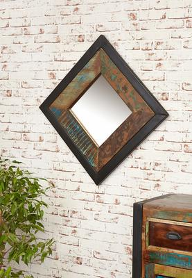 Shoreditch Wall Mirror Square Steel Frame image 2